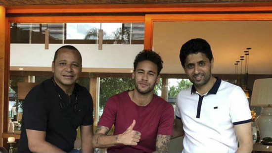 Al Khelaifi, Neymar and the goodwill dinner