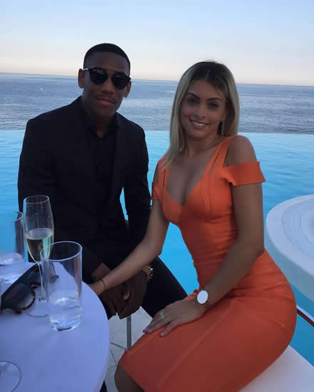 Man Utd star Anthony Martial's reality TV star girlfriend expecting his second baby