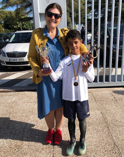Cristiano Jr. on the goal trail as he becomes the highest scorer at his school