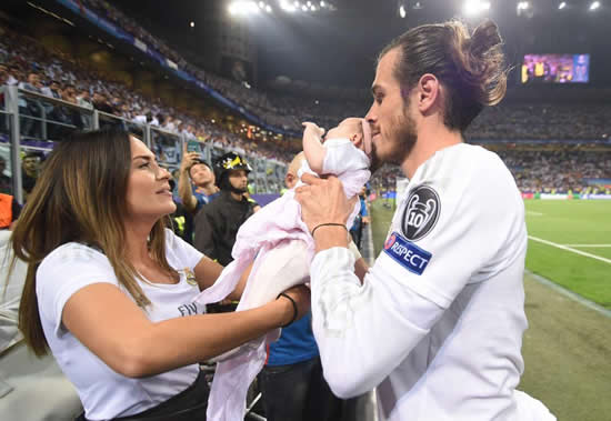 Real Madrid star Gareth Bale announces birth of first son… but Twitter is divided on bizarre name