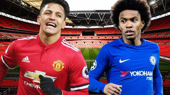 Alexis Sanchez guaranteed FA Cup start as Manchester United target Chelsea ace Willian