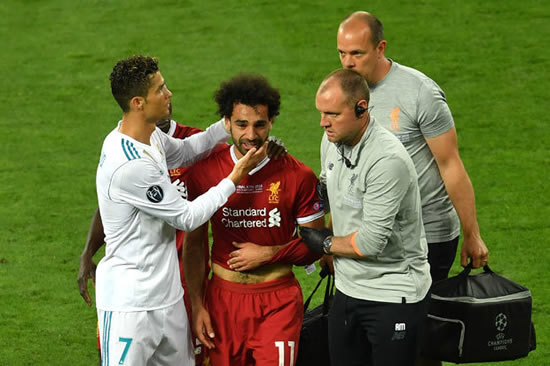 Mohamed Salah injury: Huge Cristiano Ronaldo claim made in comparison with Liverpool star