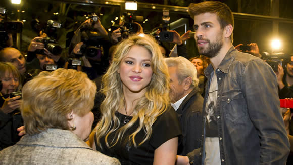 Pique and Shakira's home burgled