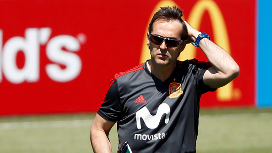 Real Madrid announce Julen Lopetegui as new coach