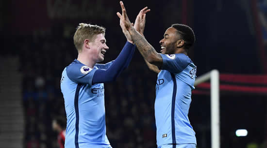 Sterling will 'light up' World Cup, says De Bruyne