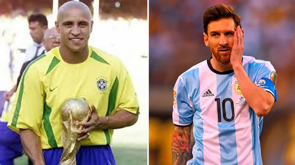 Roberto Carlos: If Messi were Brazilian then he'd already have a World Cup