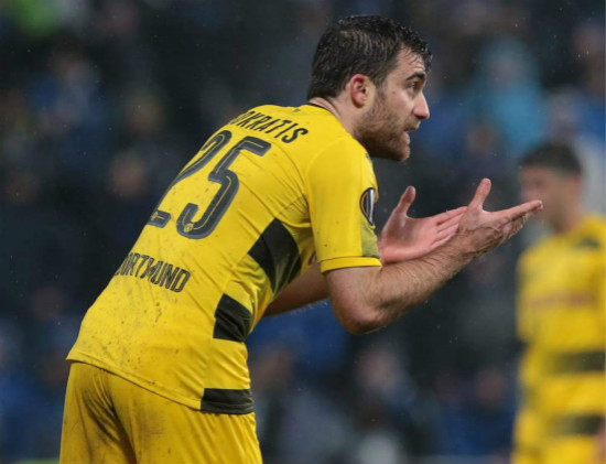Arsenal complete signing of defender Sokratis from Borussia Dortmund