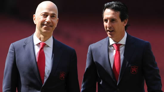 Unai Emery insists Mesut Ozil relationship remains strong