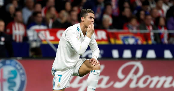 Real Madrid fans chant Cristiano Ronaldo's name in goalless derby