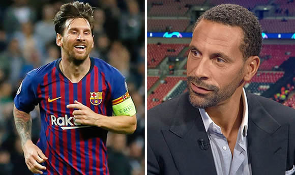 Lionel Messi: Barcelona star is better than anyone at one thing - Rio Ferdinand