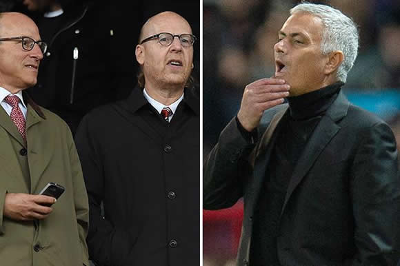 Jose Mourinho ordered by Manchester United to bite his lip as Glazers fear outbursts damage club's global image