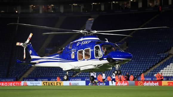 Helicopter crashes in the vicinity of Leicester City's King Power Stadium