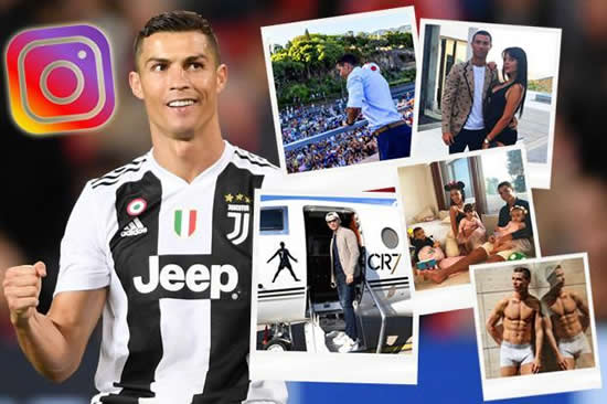 Cristiano Ronaldo Instagram: Juventus superstar overtakes Selena Gomez to become most followed person on social media site