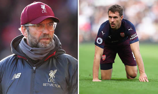 Liverpool news: Jurgen Klopp makes Aaron Ramsey decision with star to leave Arsenal