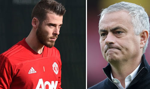 David de Gea refusing to agree new contract because of one player