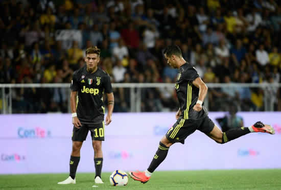 Cristiano Ronaldo 'banned' from specific free-kicks at Juventus, Allegri confirms