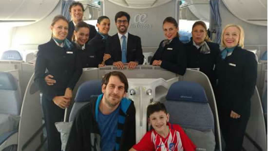 Manu travels to Madrid as he fulfils his dream with Atletico