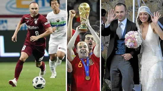 Iniesta: Anna made me suffer, she didn't make it easy