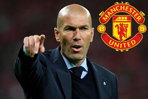 Zinedine Zidane to push for transfer of £63million star if he lands Manchester United job
