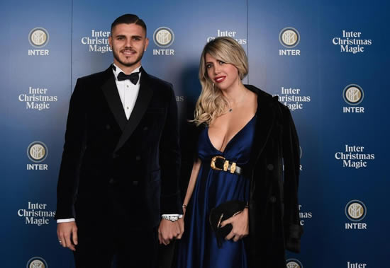 Mauro Icardi's wife Wanda displays bizarre mechanical bull riding technique in Instagram video