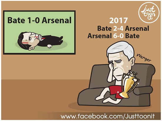 7M Daily Laugh - Wenger, we all miss you!