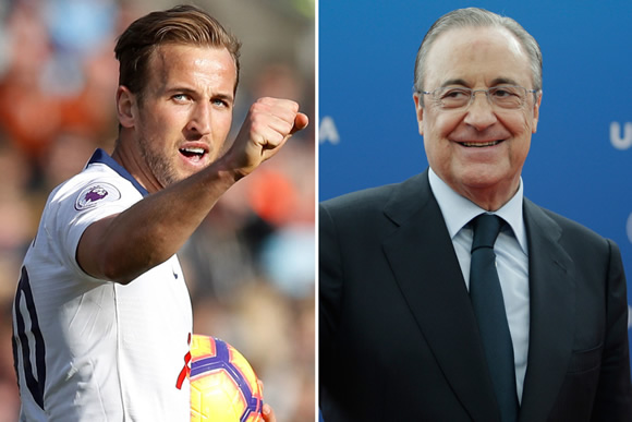 Real Madrid plan £345m summer splurge with Tottenham star Harry Kane among three top transfer targets