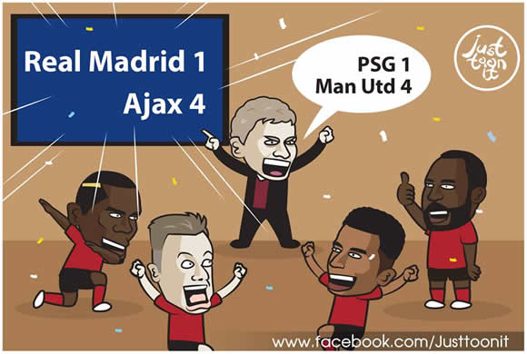 7M Daily Laugh - Solskjaer: Just look at Ajax!