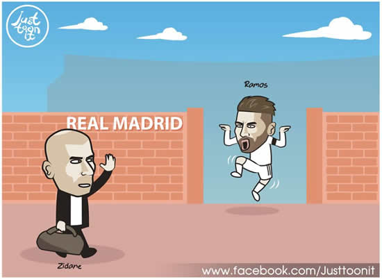7M Daily Laugh - Welcome back to Bernabeu Zizou
