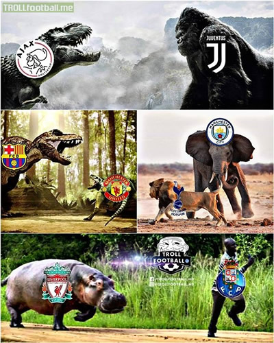 7M Daily Laugh - What UCL quarterfinals look like