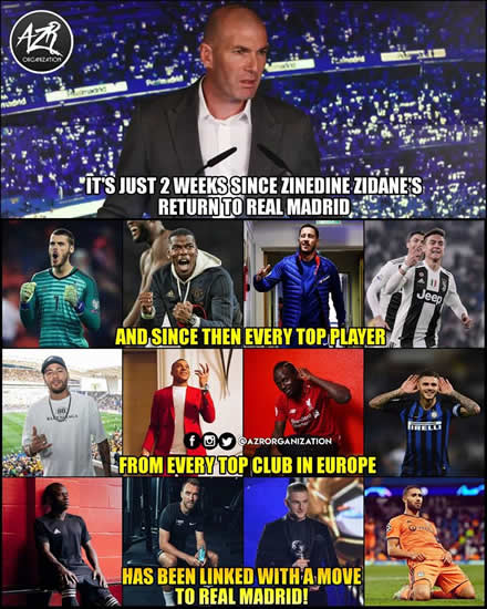 7M Daily Laugh - Zidane is coming for?