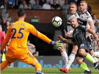 Fulham 0 Manchester City 2: Guardiola's men back on top