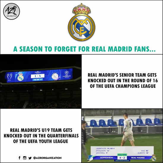 7M Daily Laugh - Not Real Madrid's season