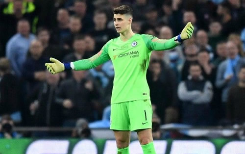 Real Madrid switch their sights from United's De Gea to Chelsea's Kepa