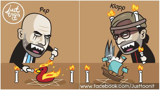 7M Daily Laugh - Pep & Klopp now...