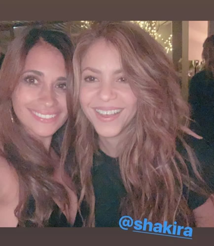 Stunning Barcelona Wags Shakira and Antonella Roccuzzo put 'rivalry' aside to take selfie to celebrate La Liga title win after Messi heroics