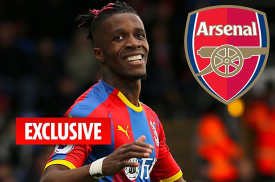 TOP GUNS Wilfried Zaha Arsenal's top transfer target in £40m summer swoop as Emery looks to buy British