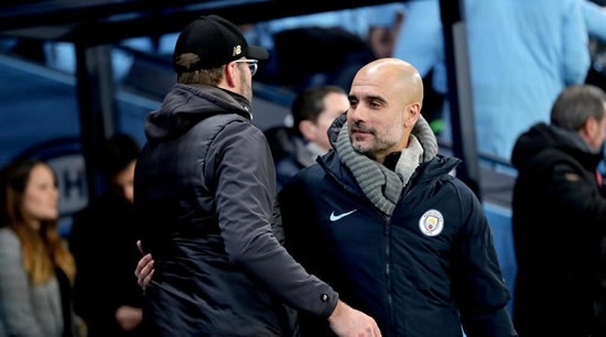 Guardiola and Klopp headline Premier League Manager of the Season shortlist