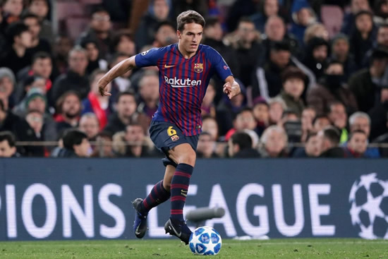 Arsenal flop Denis Suarez gets commemorative Barcelona La Liga title shirt despite playing just TWO games all season