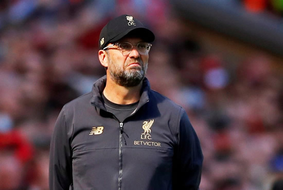 Liverpool's Klopp to put players through 'preseason' ahead of Champions League final