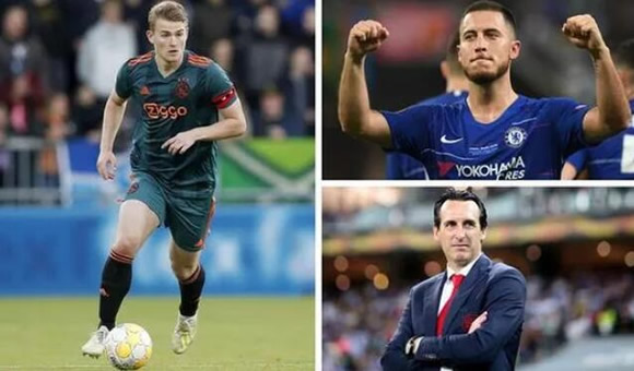 Transfer news UPDATES: Eden Hazard wished good luck at Real Madrid, De Ligt to Liverpool