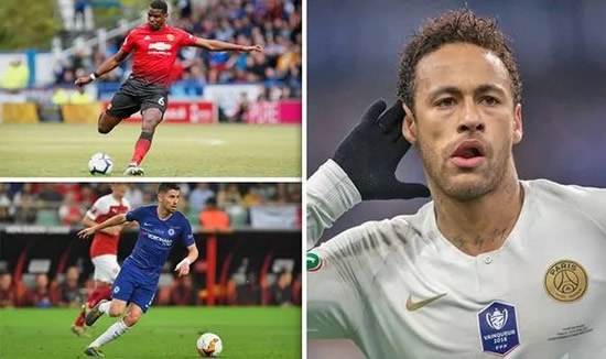 Transfer news LIVE: Neymar to Man Utd, Pogba Liverpool theory, Arsenal order, Chelsea raid