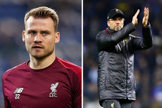 Liverpool ace Simon Mignolet makes decision on Anfield future