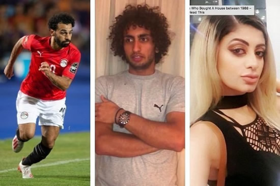 Model claims Mo Salah has 'made her a hate figure' in football harassment scandal