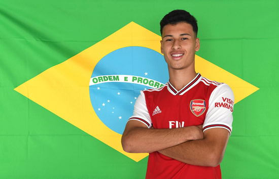 Official: Arsenal confirm signing of Brazilian prodigy Gabriel Martinelli