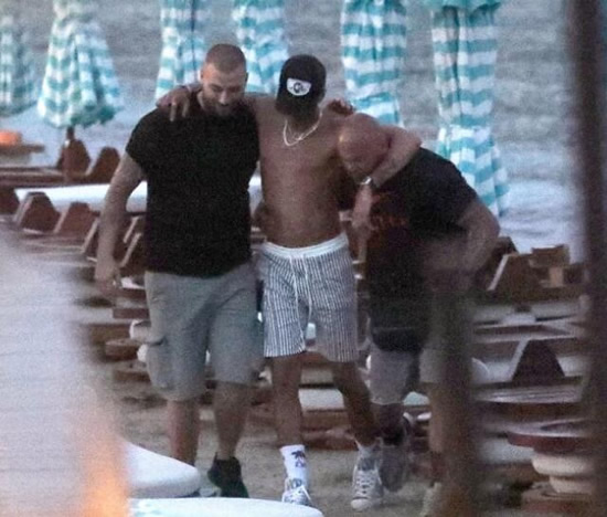 Boozy Tottenham ace Dele Alli carried away after collapsing on sun lounger during Mykonos holiday