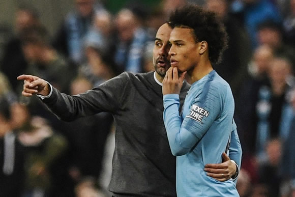 Pep Guardiola tells Leroy Sane he can quit Man City if he's not happy – with Bayern Munich ready to pounce