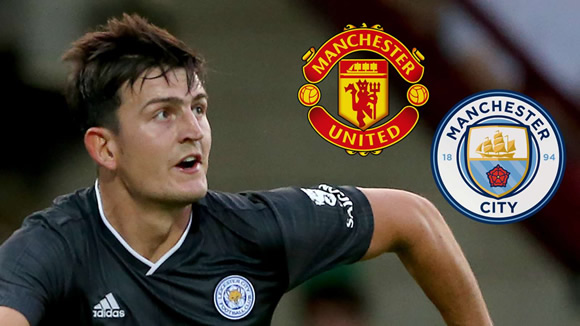 Boost for Man Utd in Maguire chase as Guardiola plays down City's chances of signing a centre-back