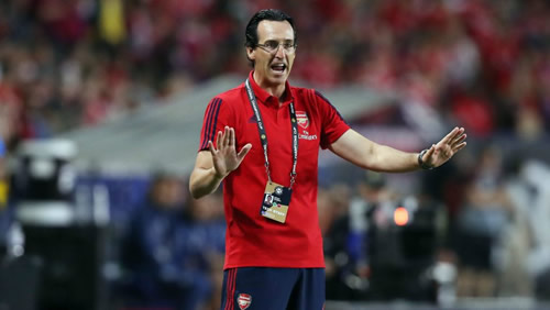"Unai Emery calls for ""patience"" as Arsenal aim to step up transfer activity"
