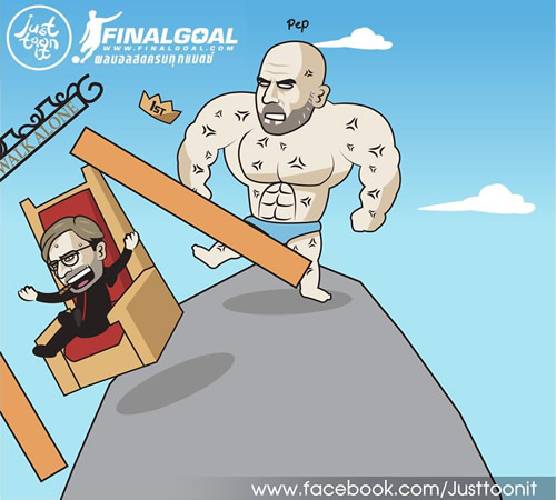 7M Daily Laugh - Pep strikes again