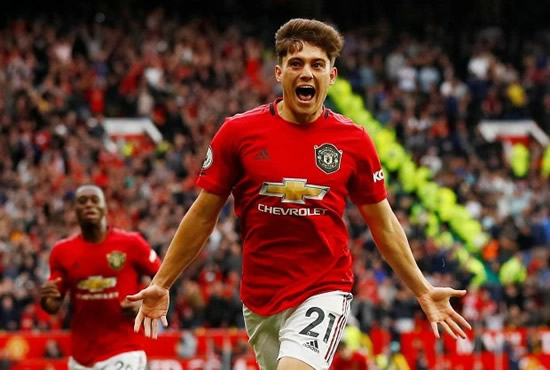 Daniel James' brother issues apology to Man Utd star after benching him in fantasy football before debut goal